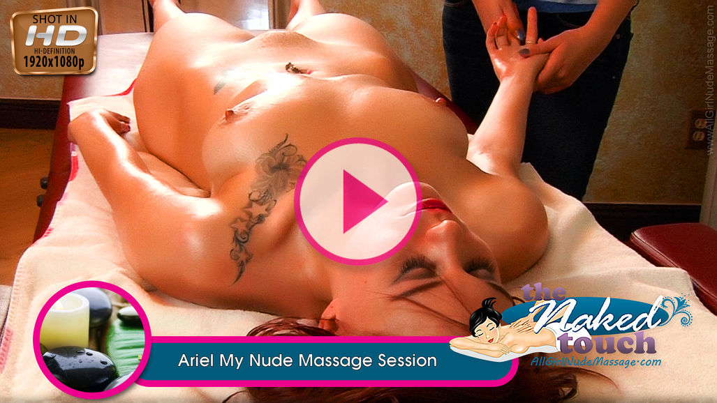 Ariel in My Nude Massage Session